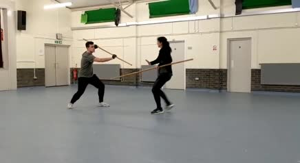 Naomi Bowman | Quarterstaff Fight